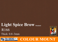 picture frame mount board light spice brow