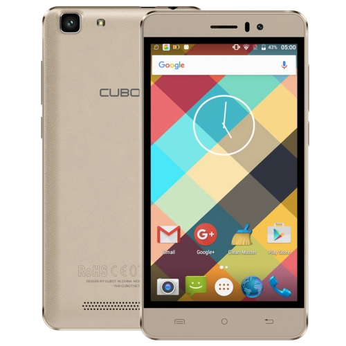 Free sample Wholesale New arrival Original CUBOT Rainbow 16GB 3G network 5.0 inch Android smart unlocked cellphone mobilephone