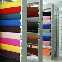 PA/PU coated polyester pongee fabric