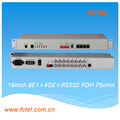 Hot sale Multiservice 8E1 4FE 2GE SFP SNMP/RS232 PDH Multiplexer
