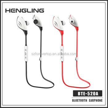 Perfect sound 4.1 wireless waterproof sport bluetooth earphone hengling Bluetooth CRS4.0 Wireless for lovers
