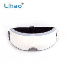 LIHAO Popular Wholesale Items Infrared And Air Pressure Eye Relax Massager With Music