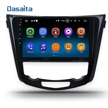 Dasaita <strong>Android</strong> 8.1 10.2&quot; 2.5D touch screen car radio for Nissan <strong>X</strong>-Trail Qashqai 2014 2015 GPS navigation dvd player Headunit BT