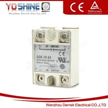 SSR-10AA AC to AC Electric Relay SSR 10A 220VAC Solid State Relay SSR