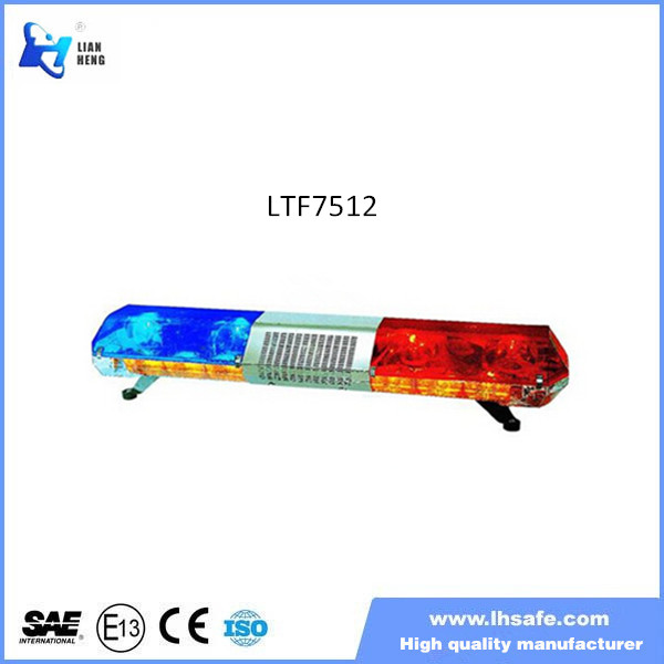 Factory price halogen rotating emergency warning light bar LTF7512