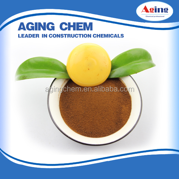 Calcium Lignosulphonate Textile Bonding Agents/calcium lignin Construction Admixture /lignosulfonate waste
