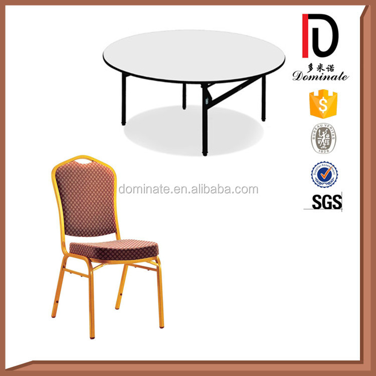 Good Quality Round Used Restaurant Table And Chair