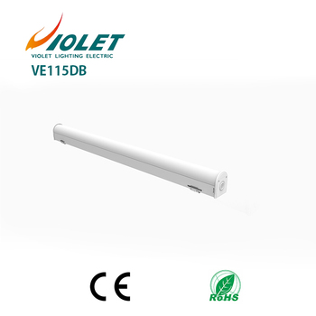2017 top sale led linear light fitting No Clips PC cover
