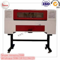 Deruge 6040 Co2 laser cutting and engraving machine for architectural models/ handicraft industry
