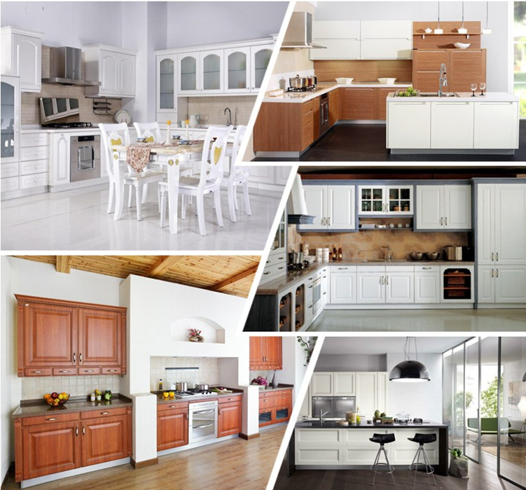2015 New European Style Rustic Pvc Kitchen Cabinet With Free Design View Wine Rack Kitchen