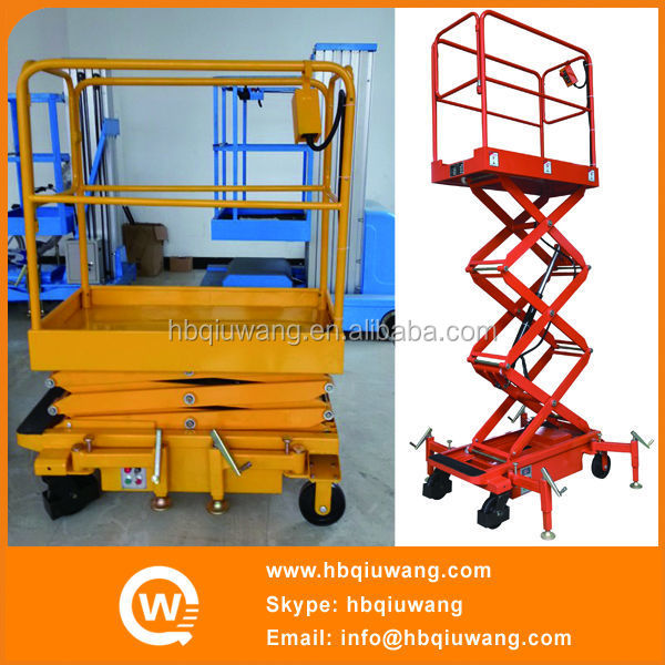 Small scissor electric lift mechanism