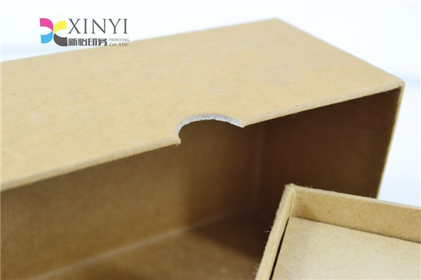 Lid and Bottom Kraft paper packaging paper box