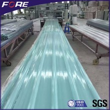 Lightweight Corrugated Plastic Roofing Sheet Price, Fiber FRP Transparent Roof Panel, Clear Color Fiberglass Material Roof Tile