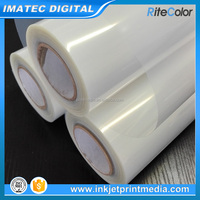 100um 24 Inch Translucent Waterproof Inkjet Film For Silk Screen Printing