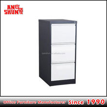 BAS-002-3D 2017 fashion design wide 3 drawer steel pedestal filing cabinet workshop