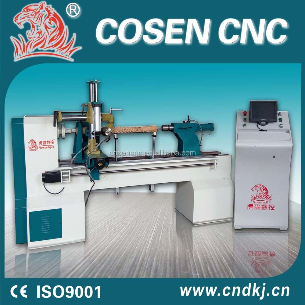 mutifuntional woodwork lathe/stair machines for wood engraving rome column