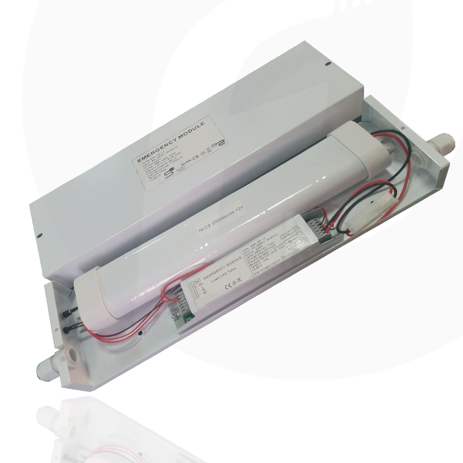 Emergency module designed to work along side a number of LED products