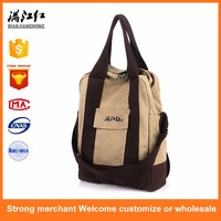 China supplier cheap vintage canvas messenger shoulder handbag sling bag for women