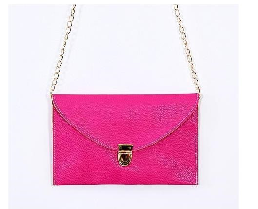 New Cheap Wholesale Monogrammed Scalloped Envelope Bag
