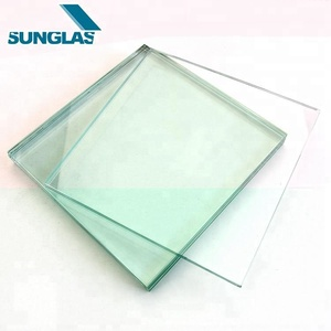Chinese Custom Design Reasonable Price unbroken Building Glass 4mm 6mm 8mm thick ultra Laminated Clear Float Glass