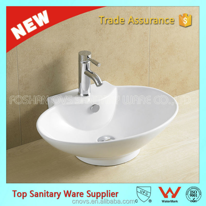 item A8020 ovs good quality usefull ceramic vanity wall hung basin