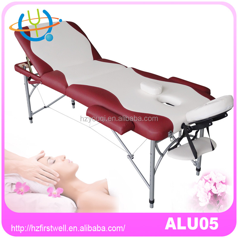Chinese adjustable height massage table,aluminum sex massage table,heavy duty massage table paper sheet