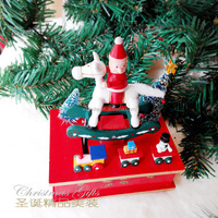 Factory direct sale Christmas decorations Christmas gifts Music box Birthday gift