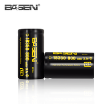 Cheap Basen imr 18350 battery 800mah 18350 lifepo4 battery for electronic cigarette