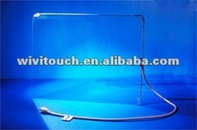 "21""SAW transparent glass touch screen"