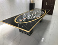 Waterjet marble table