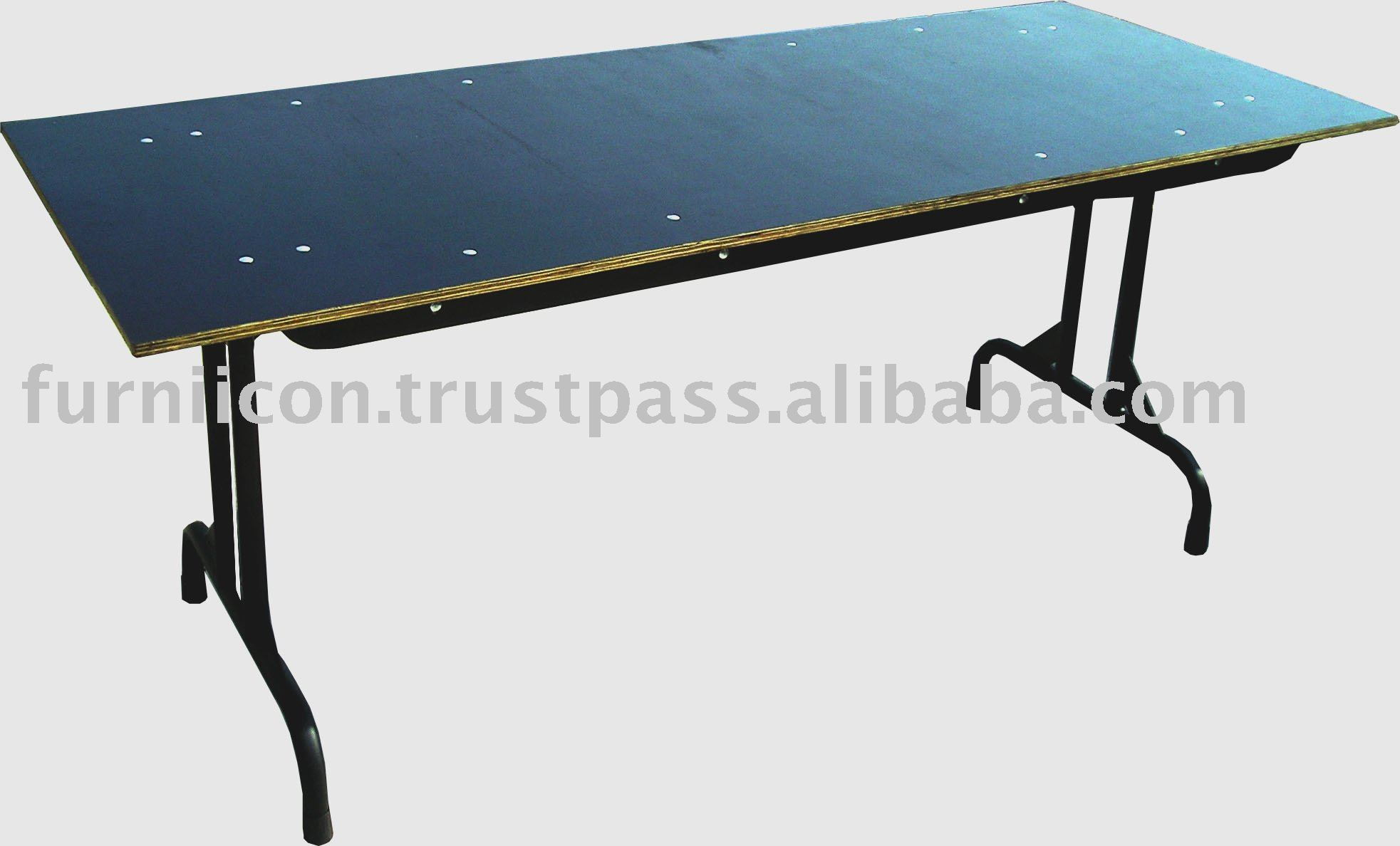 Rental folding table