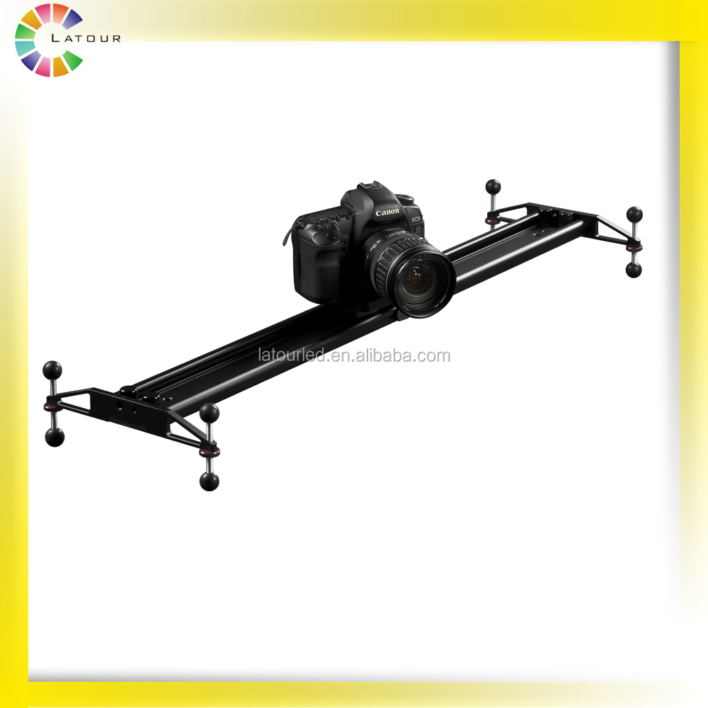 Huizhou 2016 TOP Sale Products High Loading Capacity DSLR Camera Sliders Equipment Video Track Slider for Film Shooting