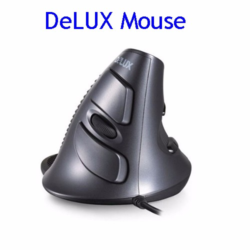 DeLUX M618 Wired Vertical Ergonomic Mouse USB Gaming Mouse Wholesale Price