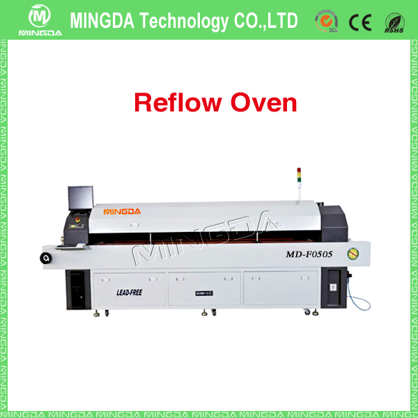 MINGDA MD-F0505 Hot Air Reflow Oven / led reflow soldering machine / desktop reflow oven