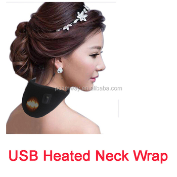 hot sales promotion 5V USB rechargeable electric heated pad for neck pain