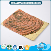 Good quality delicious seafood frozen smoked salmon with vanilla