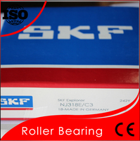 Single Row SKF NJ318 Cylindrical Roller Bearing Best Price Good Quality