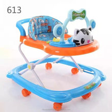 High quality Plastic baby doll learning walker with swivel wheels for sale