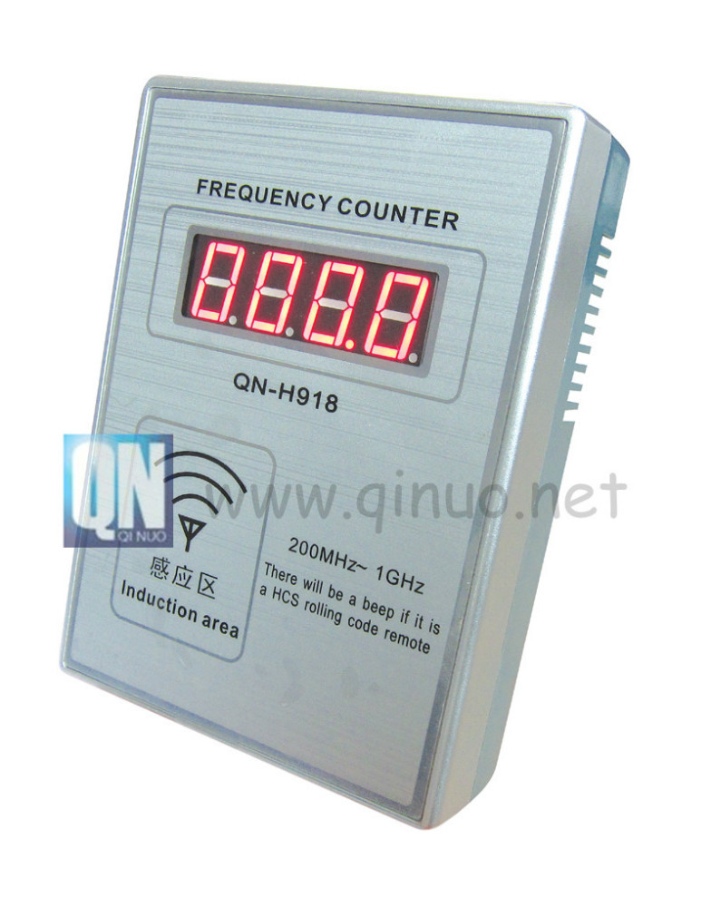 Qinuo Radio Frequency Machine QN-H918 Frequency Counter Portable for Remote Control 200Mhz-1Ghz