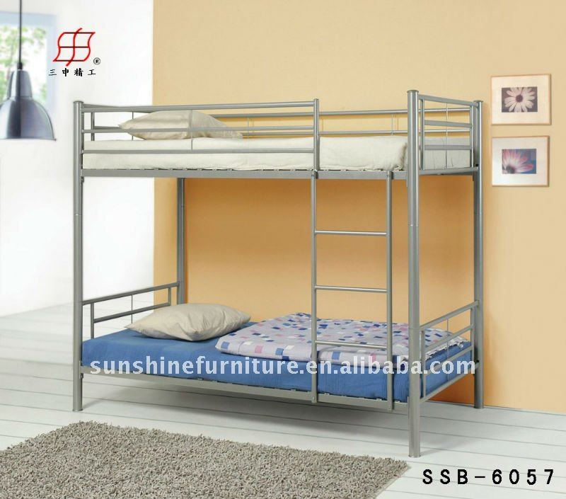 hot sale cheap queen size bunk bed full over queen bunk bed wholesaler
