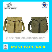 street leisure side bags for men in canvas