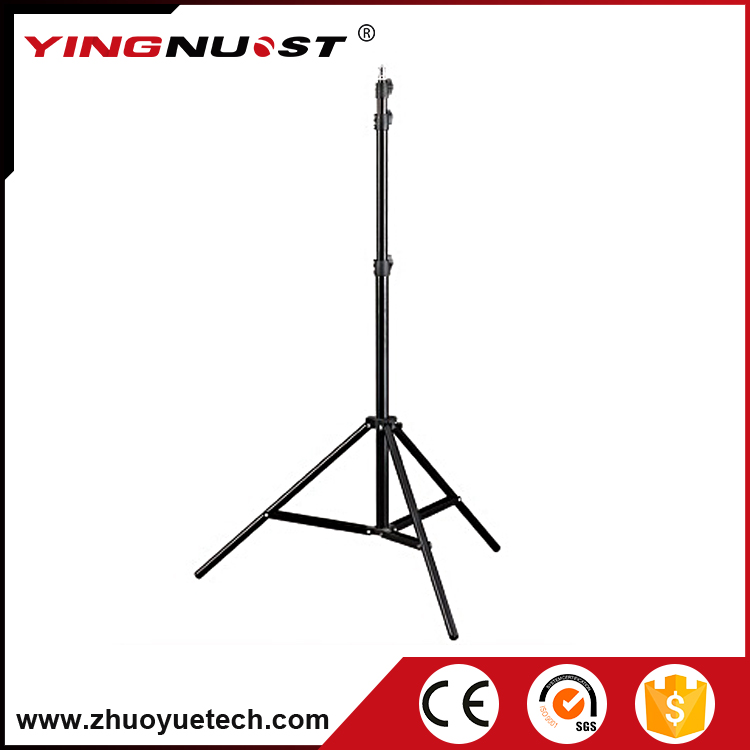 Heavy Duty 2.1m Adjustable Photo Light Stand Flexible Folding Light Tripod