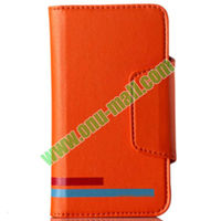 New Arrival High-end KLD Magnetic Wallet Leather Case for iPhone 5S 5C 5 4S 4