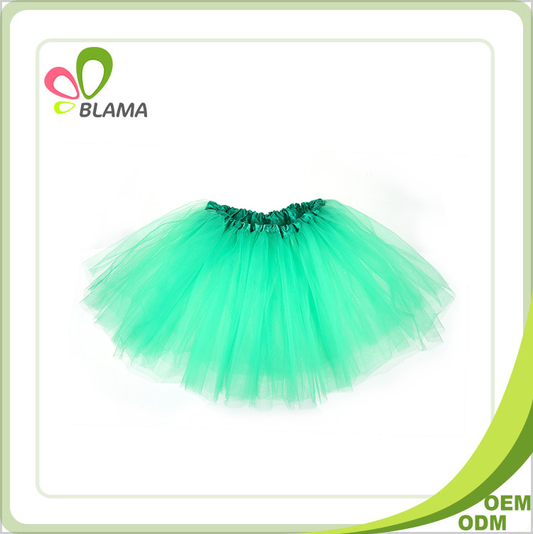 Wholesale children fluffy party boutique tulle super soft chiffon baby pettiskirts
