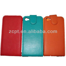 Green PU Leather Mobile Phone Case For iPhone