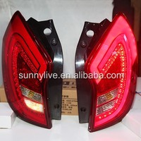 Ssangyong Korando C 2011~2013 LED Tail Lights Tail Rear Lamps Red Color WH