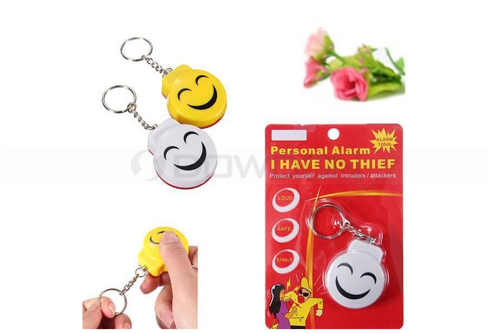 Small Face Personal Safety Alarm Keychain Self-defense Alarm