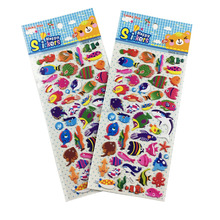 Audited Factory Wholesale 2018 New Product Custom Kids PVC Foam 3D Puffy Sticker