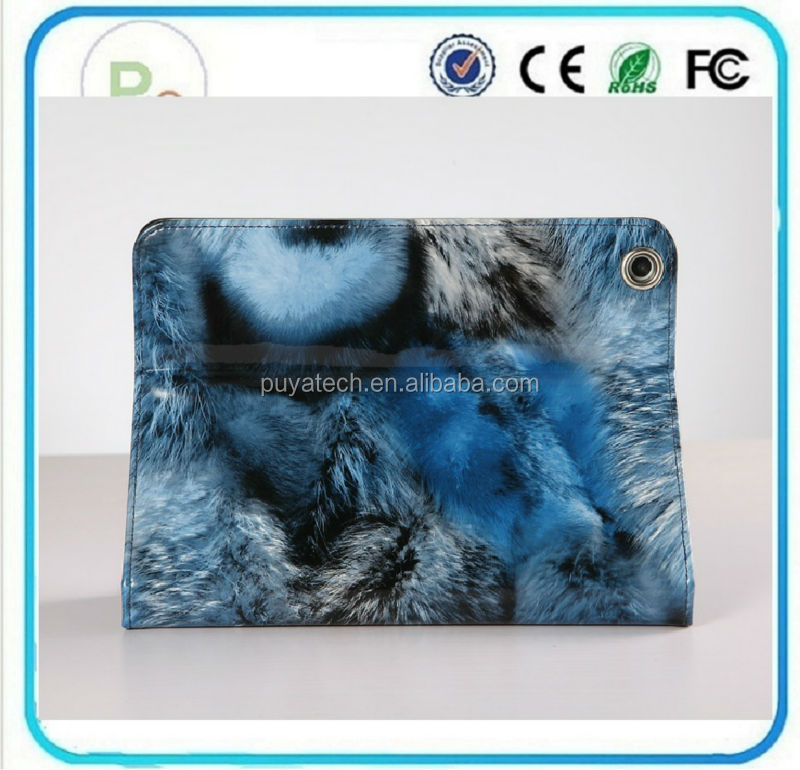 Beauty Fox Stripe china supplier cheap mobile phone case Beauty belk case for ipad for ipad 3 case PRO-IP02191