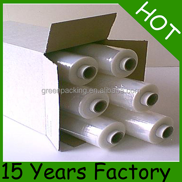 Extensible LLDPE strech film - machine & hand rolls